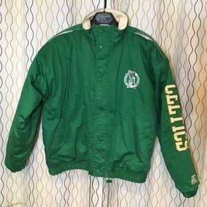 Vintage Boston Celtics Starter Jacket Coat